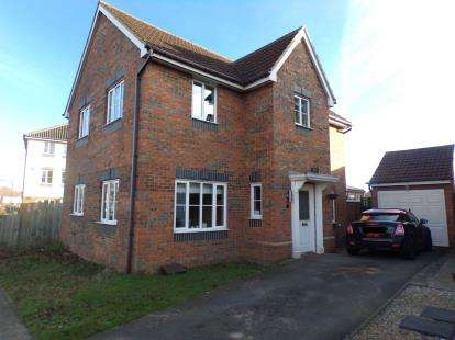 4 Bedrooms Detached House for sale in Blanchland Circle, Monkston, Milton Keynes