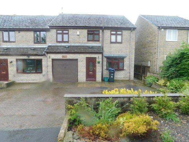 4 Bedrooms Semi Detached House for sale in FELL VIEW, BUTTERKNOWLE, BISHOP AUCKLAND