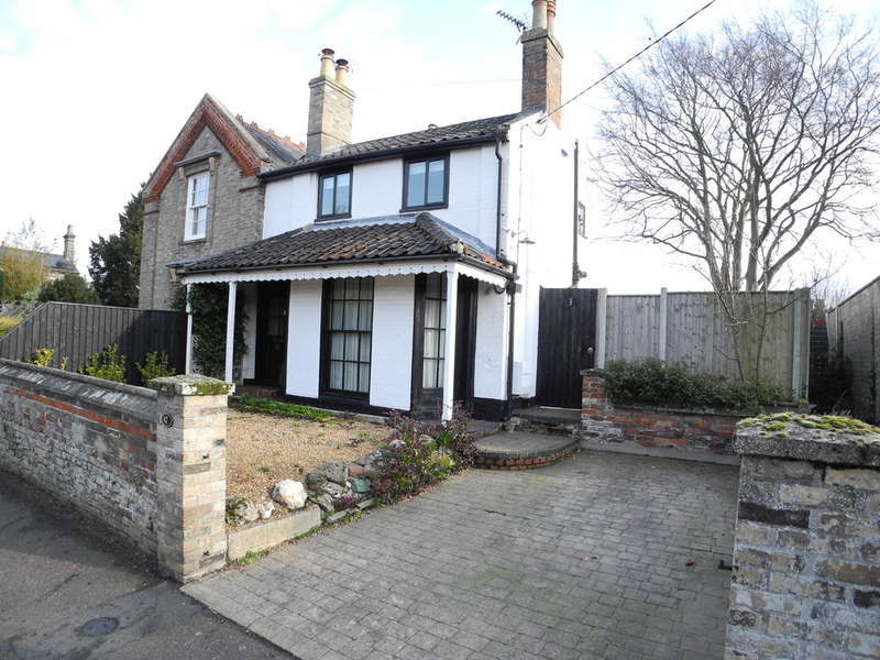 2 Bedrooms Semi Detached House for sale in Flixton Road, Bungay