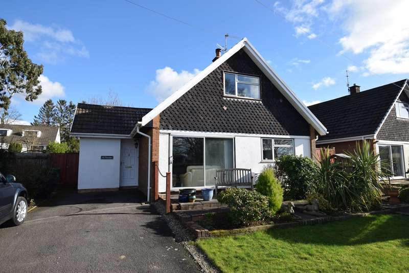 4 Bedrooms Detached Bungalow for sale in Ashford Close, Croesyceiliog, Cwmbran, NP44