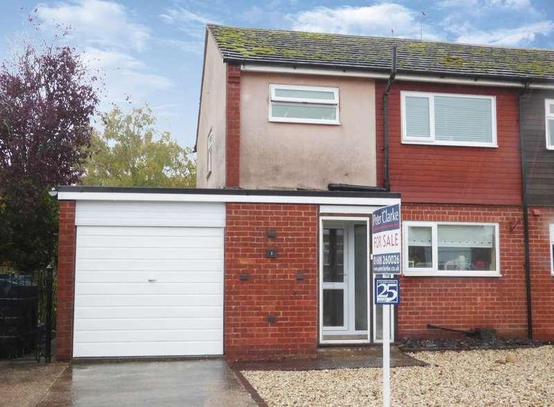 3 Bedrooms Semi Detached House for sale in Avon Close, Ettington, Stratford-Upon-Avon