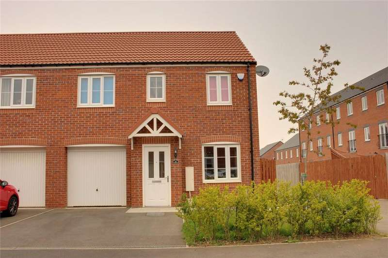 3 Bedrooms Semi Detached House for sale in Pease Gardens, Scholars Rise