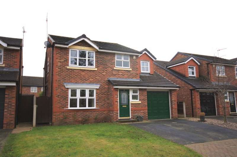 4 Bedrooms Detached House for sale in Kingfisher Close, Nantwich, CW5