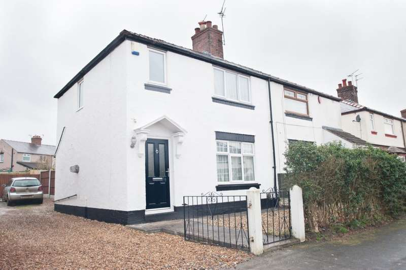2 Bedrooms Semi Detached House for sale in Hawthorn Road, Little Sutton, Ellesmere Port, CH66