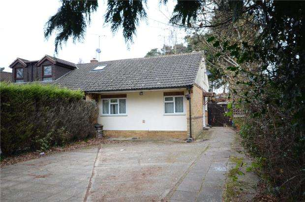 3 Bedrooms Semi Detached Bungalow for sale in Barkham Ride, Finchampstead, Wokingham