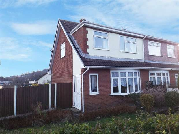 3 Bedrooms Semi Detached House for sale in Ffordd Beuno, Holywell, Flintshire