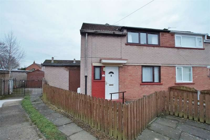 2 Bedrooms End Of Terrace House for sale in CA1 3PS Arnside Road, Harraby, Carlisle, Cumbria