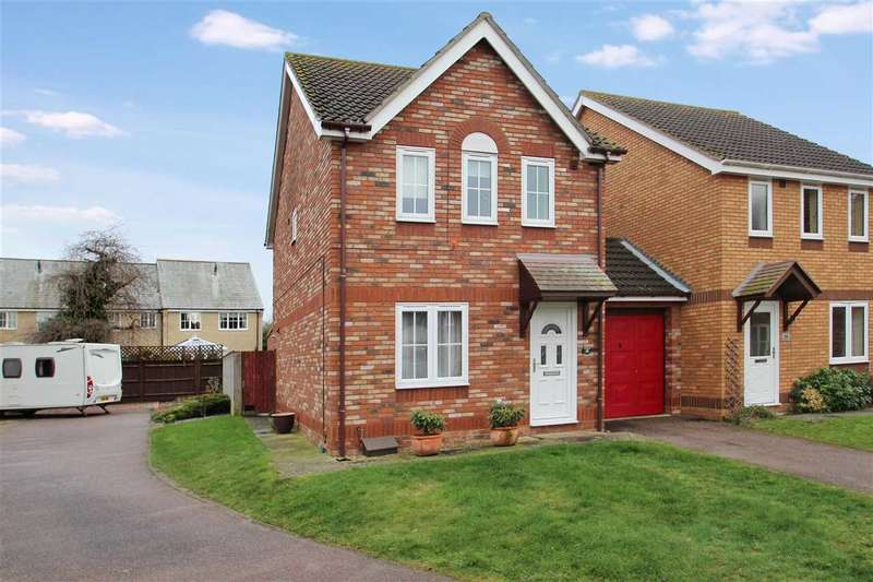 3 Bedrooms Detached House for sale in Knights Lane, Grange Farm, Kesgrave, Ipswich