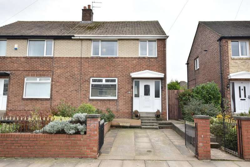 3 Bedrooms Semi Detached House for sale in Keats Avenue, Boldon Colliery