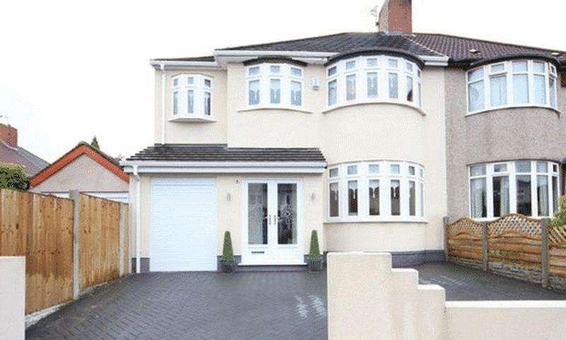5 Bedrooms Semi Detached House for sale in Orton Road, Childwall