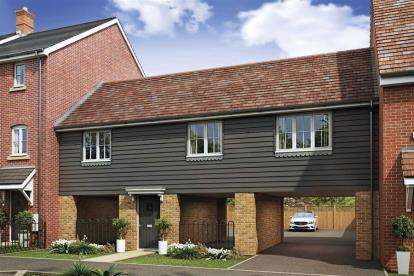 2 Bedrooms House for sale in OAKBROOK San Andres Drive, Newton Leys, Bletchley, Milton Keynes