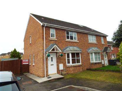 3 Bedrooms Semi Detached House for sale in Clos Chappell, St. Mellons, Cardiff