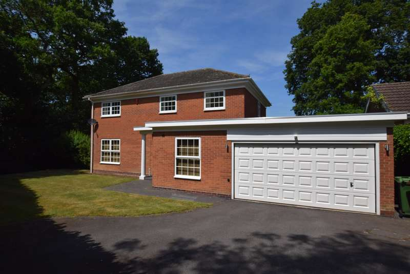 4 Bedrooms Detached House for sale in Bridge Meadow Drive, Knowle, Solihull