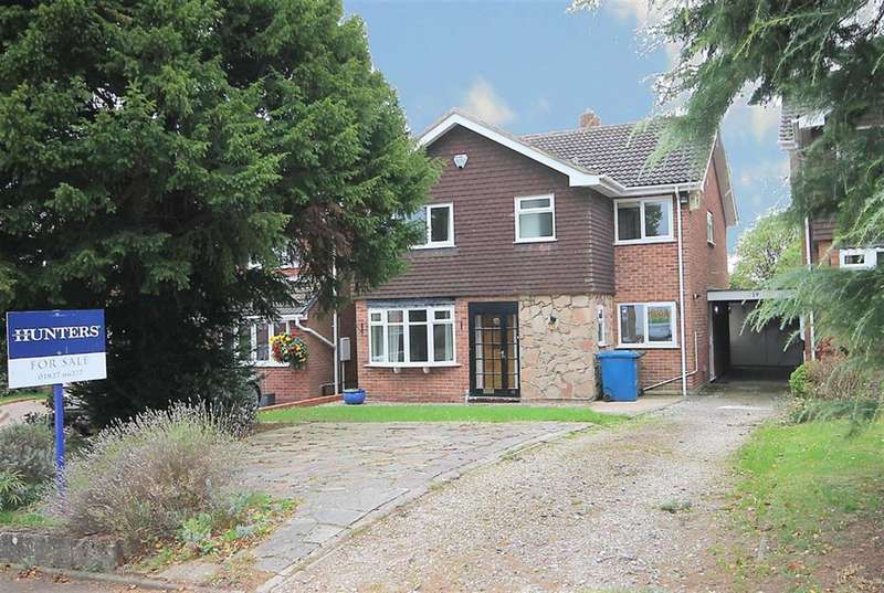4 Bedrooms Detached House for sale in Perrycrofts Crescent, Tamworth, B79 8UA