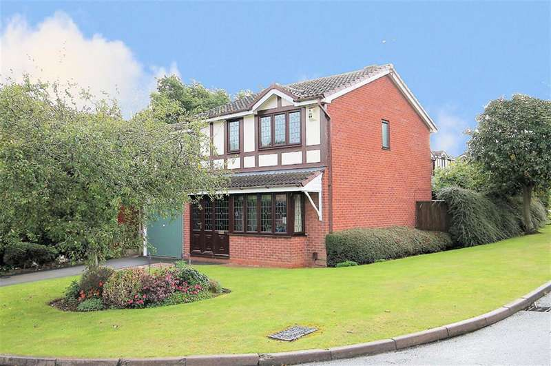 4 Bedrooms Detached House for sale in Ottery, Hockley, Tamworth, B77 5QH