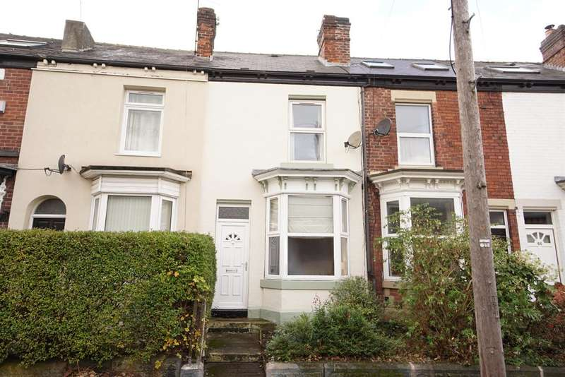 3 Bedrooms Terraced House for sale in Empire Road, Nether Edge, Sheffield, S7 1GL