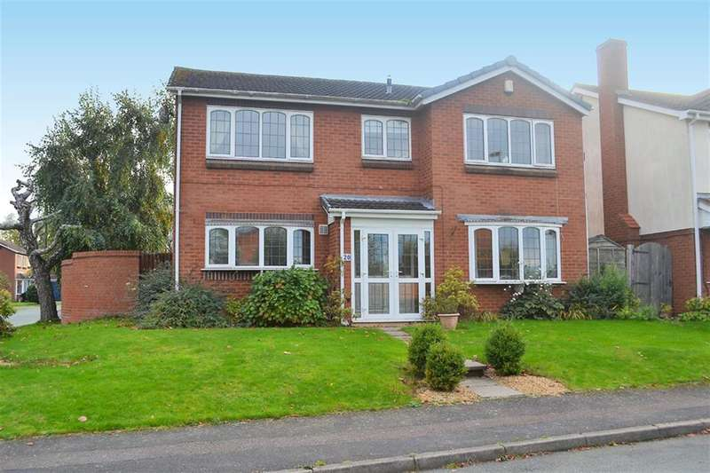 4 Bedrooms Detached House for sale in Birchwood Road, Lichfield