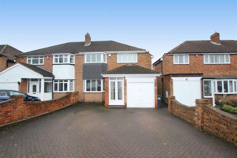 3 Bedrooms Semi Detached House for sale in Bakers Lane, Sutton Coldfield, B74 2AX
