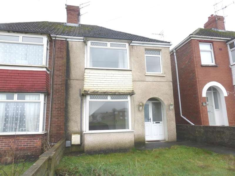 3 Bedrooms Semi Detached House for sale in Heol Las, North Cornelly