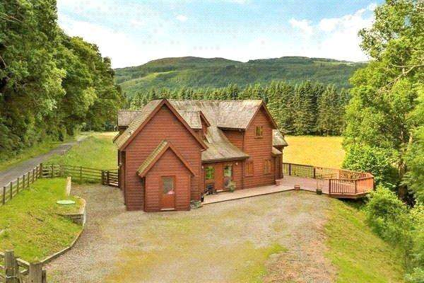 4 Bedrooms Detached House for rent in Guay Lodge, Guay, Ballinluig, Pitlochry, Perthshire, PH9