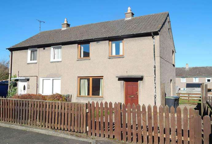 2 Bedrooms Semi Detached House for sale in 49 Weirgate Avenue, St Boswells, TD6 0BT