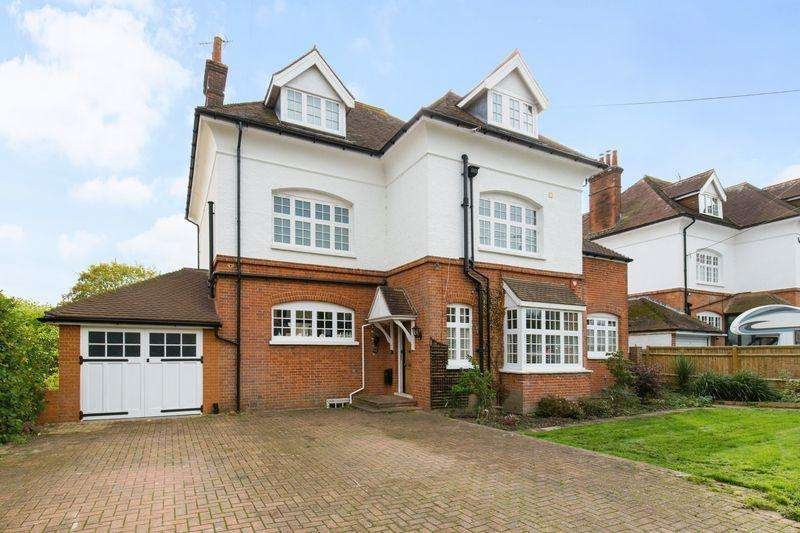 6 Bedrooms Detached House for sale in Goring Road, Steyning