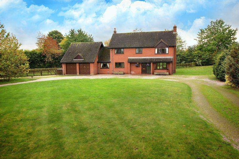 5 Bedrooms Detached House for sale in Holyhead Road, Shrewsbury, SY4 1AY