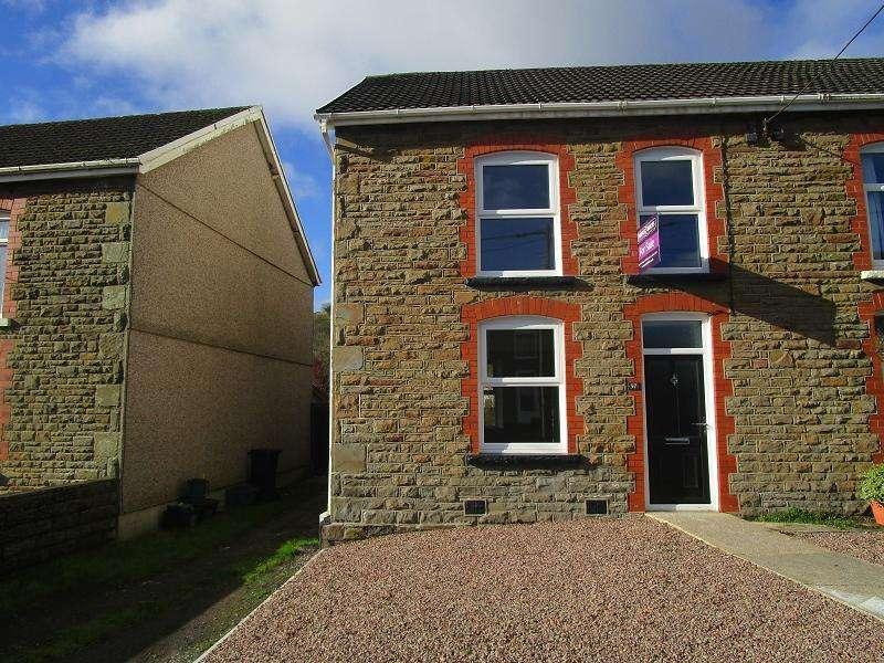 2 Bedrooms Semi Detached House for sale in Rhiw Road, Rhiwfawr, Swansea.