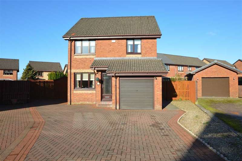 3 Bedrooms Detached House for sale in Sunflower Gardens, Motherwell