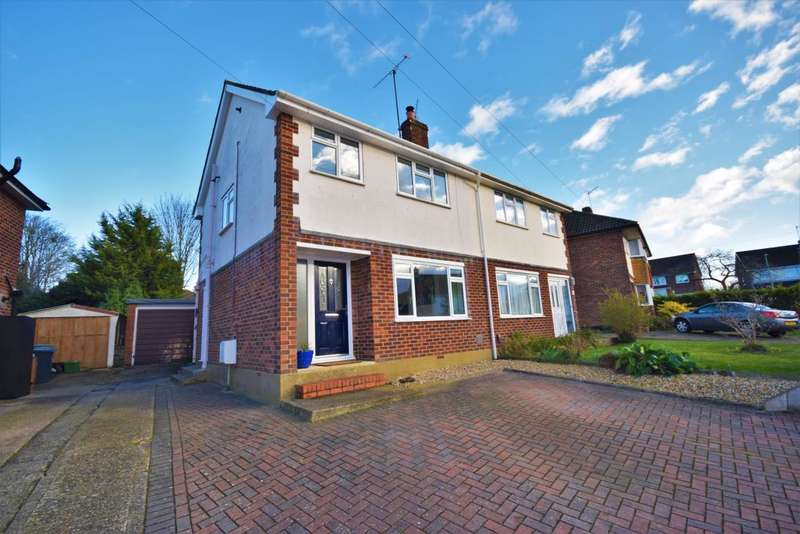 3 Bedrooms Semi Detached House for sale in Harrow Way, Basingstoke, RG21