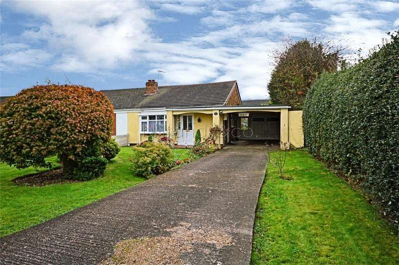 2 Bedrooms Semi Detached Bungalow for sale in Grange Avenue, Burntwood, Staffordshire