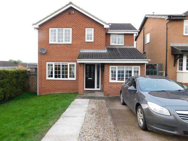 3 Bedrooms Detached House for sale in PETTERSONDALE, COXHOE, DURHAM CITY : VILLAGES EAST OF