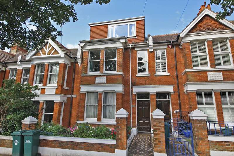 3 Bedrooms Maisonette Flat for sale in Ditchling Road, Brighton BN1