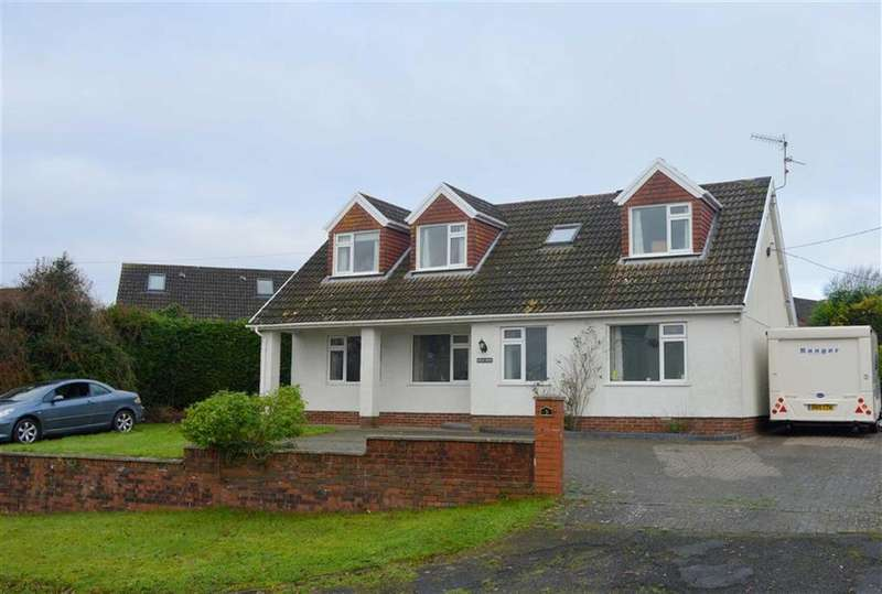 4 Bedrooms Detached Bungalow for sale in Chapel Road, Three Crosses, Swansea