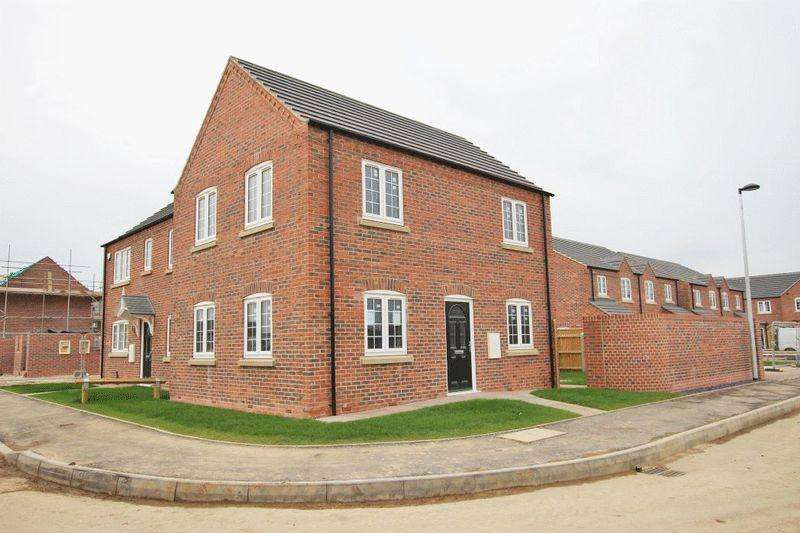 3 Bedrooms Semi Detached House for sale in GIBSON WAY, MANBY