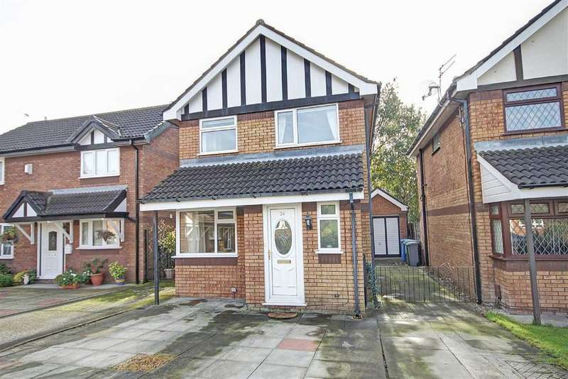 3 Bedrooms Detached House for sale in Gawsworth Close, Timperley, Cheshire