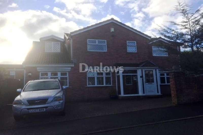 4 Bedrooms Detached House for sale in Woodland Way Heol Gerrig