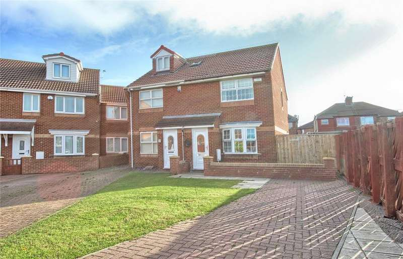 2 Bedrooms Semi Detached House for sale in Saint Josephs Court, Redcar