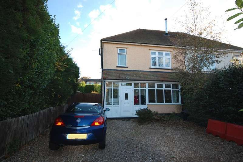3 Bedrooms Semi Detached House for sale in Parkstone Avenue, Poole BH14