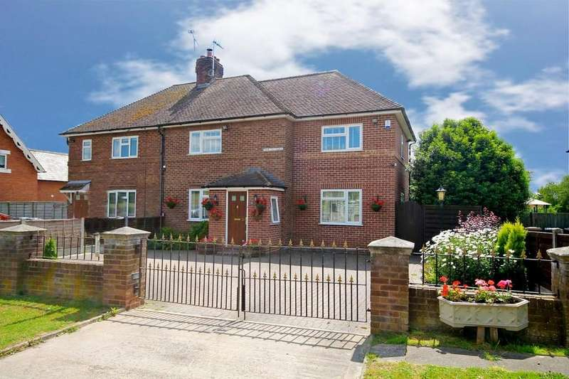 3 Bedrooms Semi Detached House for sale in Park Cottages, Eastwick