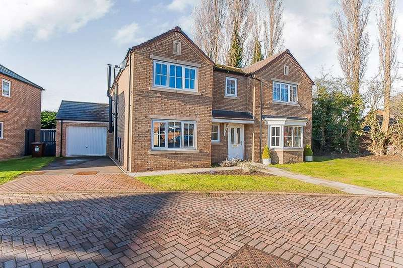 4 Bedrooms Detached House for sale in Chatsworth Close, Laceby, Grimsby, DN37