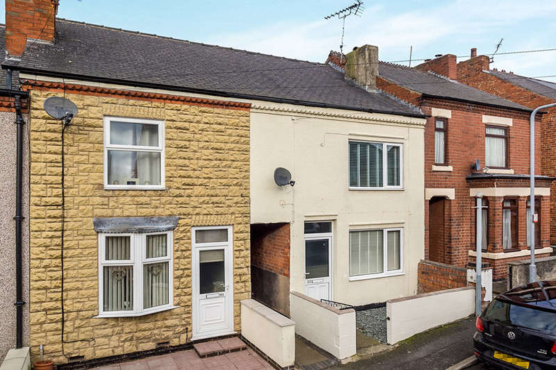 2 Bedrooms Terraced House for rent in Sedgwick Street, Jacksdale, Nottingham, NG16