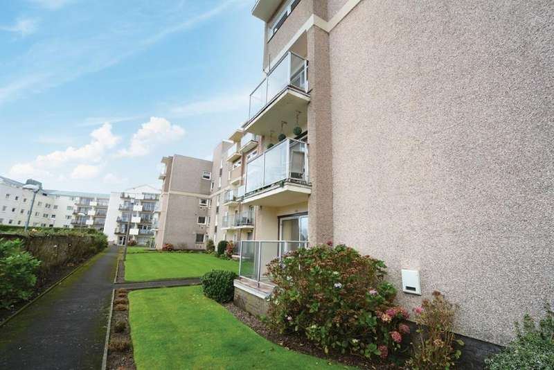 2 Bedrooms Ground Flat for sale in 63 Castlebay Court, Largs, KA30 8DP