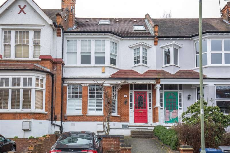 4 Bedrooms Terraced House for sale in Woodlands Avenue, Finchley, London, N3