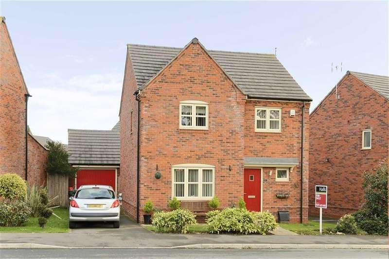 4 Bedrooms Detached House for sale in Diamond Way, Ellesmere, SY12