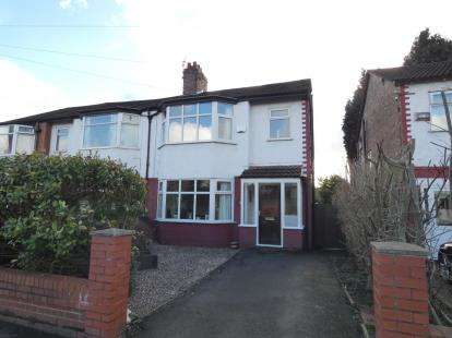 3 Bedrooms Semi Detached House for sale in Kensington Road, Manchester, Greater Manchester