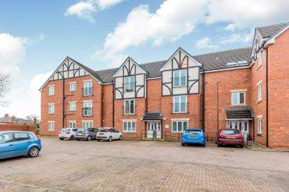 2 Bedrooms Flat for sale in Laburnum Court, Springfield Drive, Wistaston, Crewe