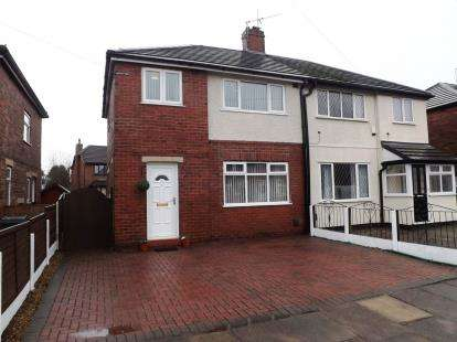 3 Bedrooms Semi Detached House for sale in Laburnum Road, Lowton, Warrington, Greater Manchester