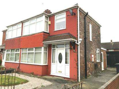 3 Bedrooms Semi Detached House for sale in Clifford Road, Penketh, Warrington, Cheshire