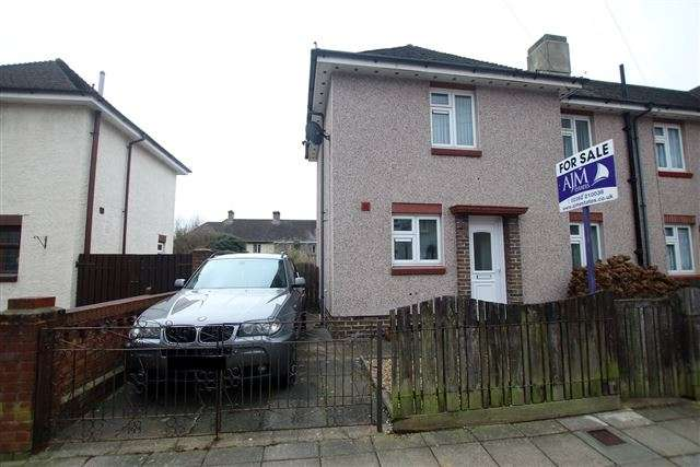2 Bedrooms End Of Terrace House for sale in Freshwater Road, Cosham, Portsmouth, Hampshire, PO6 3HU